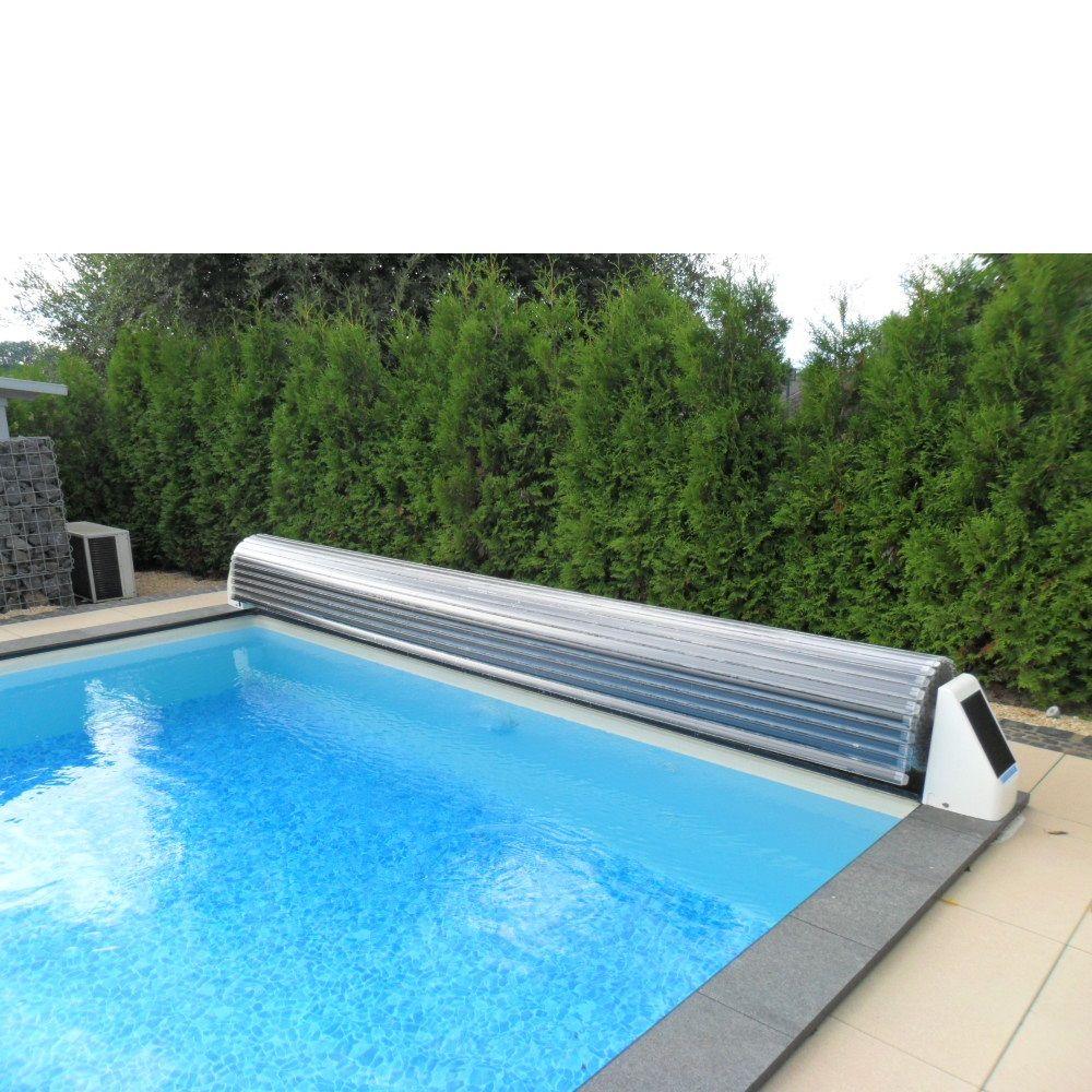 Schwimmbadabdeckung Easy Cover Pvc Lamellen Weiss Pws