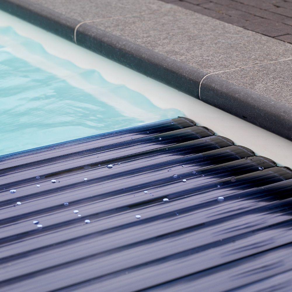 Poolabdeckung Begehbar schwimmbadabdeckung polycarbonat lamellen solar pws poolshop