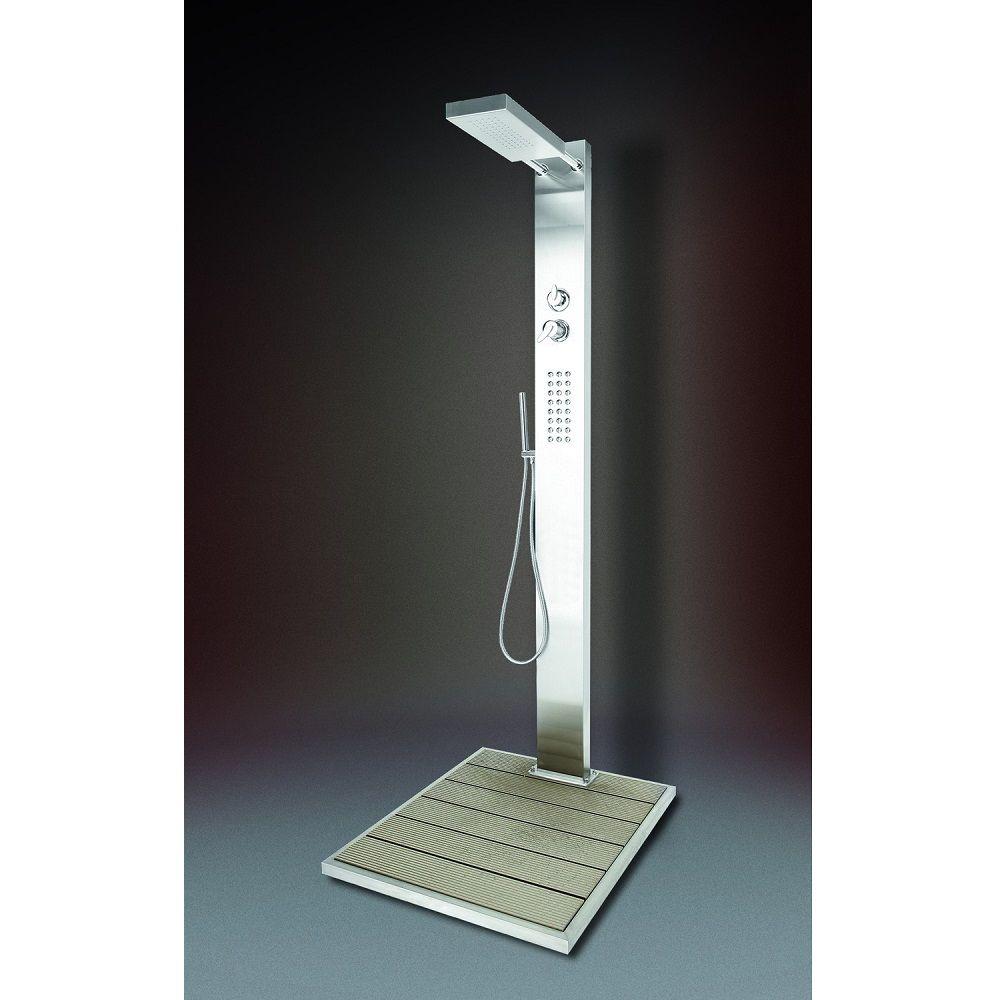 kalt und warmwasserdusche ideal modell elba pws poolshop. Black Bedroom Furniture Sets. Home Design Ideas